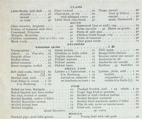 teochew city seafood restaurant new year menu in 1900 ephemeral new york
