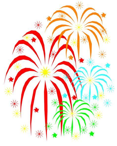 fuochi d artificio clipart fuochi d artificio illustrazione vettoriale illustrazione