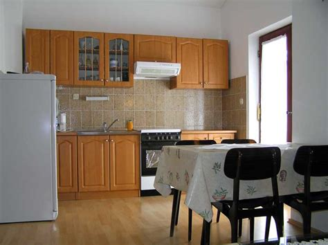 Appartment Kitchen by Apartments Novalja Blue Apartment Apartments Novalja