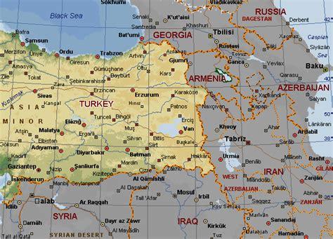 russia turkey map map iran turkey travel maps and major tourist