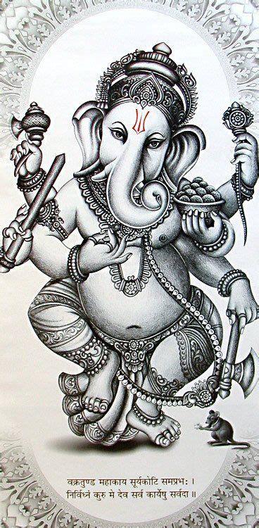ganesha tattoo on hip les 25 meilleures id 233 es concernant peinture de bouddha sur