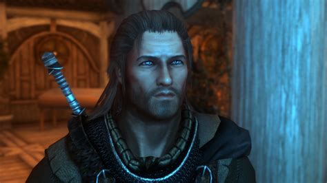 skyrim male hair mod pics for gt skyrim long hair mods