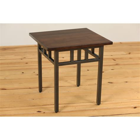 Mixed Mission End Table   Amish Crafted Furniture