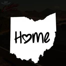 Ohio Home Sticker