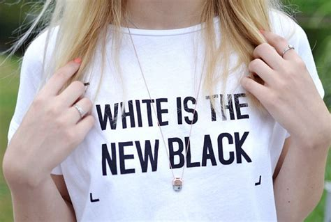 Tshirt Just Did It White zara comes for selling white is the new black