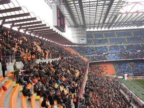 san siro away section san siro milan the stadium guide
