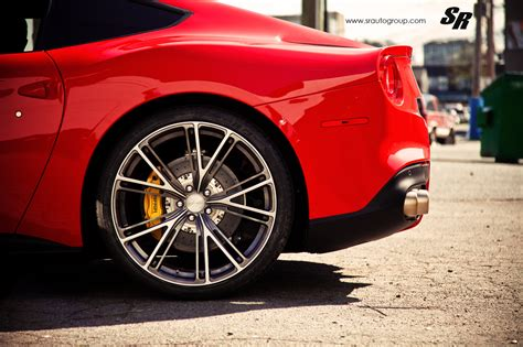 ferrari f12 berlinetta wheels ferrari f12 berlinetta on pur wheels by sr auto
