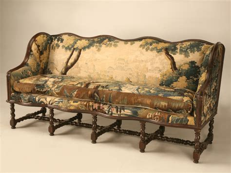 old settee collection original antique french louis xiii sofa with earlier