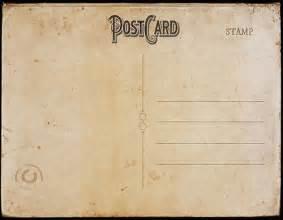 vintage postcard template back 2 tamar posts vintage and card templates