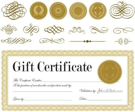 certificate design vector cdr format certificate free vector download 812 free vector for