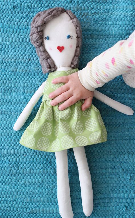 rag doll dress pattern traditional rag doll diy a beautiful mess