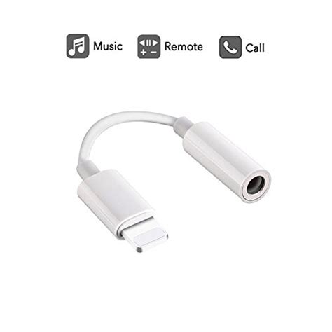 lightning to 3 5mm headphone adapter labobbon 8 pin connector for iphone 8 8 plus iphone