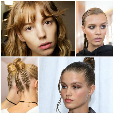 hairstyles 2017 trends the best beauty looks from nyfw spring 2017 runway hair