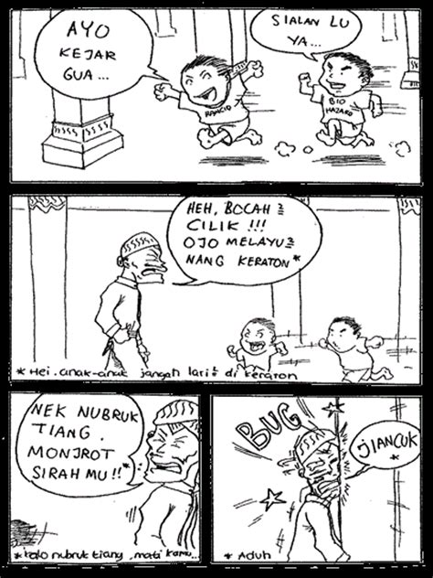 Komik Anak Jld 1 bego komik bego lucu karya anak indonesia
