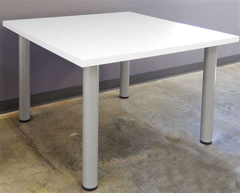 White Conference Table White Conference Tables 8 Length See Other Sizes