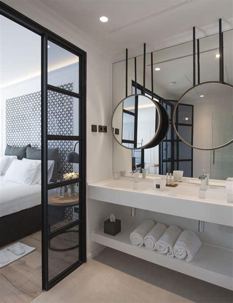 Modern Hotel Bathrooms by The Serras Hotel Barcelona Luxury Hotel Quarter