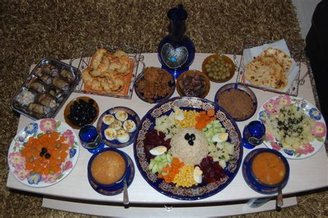 table de ramadan marocaine ma table de ramadan la kouitchina de shandra