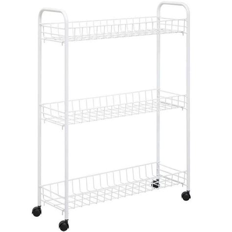 honey can do laundry honey can do 3 tier white laundry cart crt 01149 the
