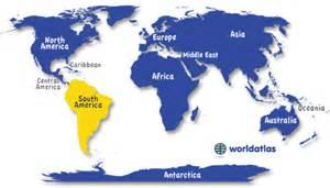 international location neighbors south america