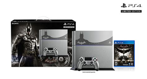 Ps4 2dark Limited Edition New batman arkham and playstation 4 team up in limited edition bundle polygon