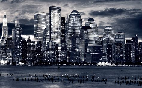 cityscape wallpaper in black and white by lutece black and white city wallpapers wallpaper cave