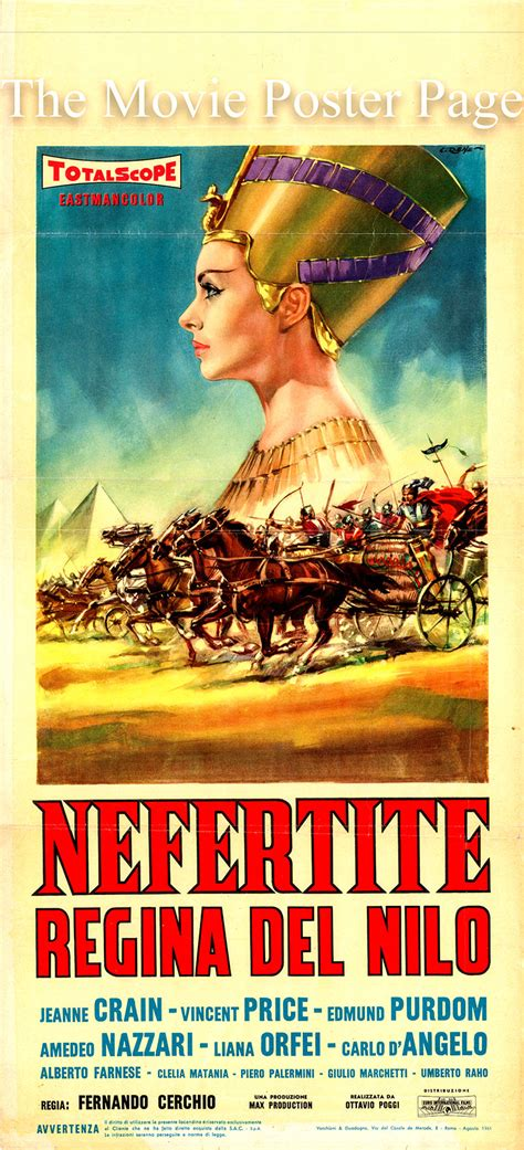 film queen of the nile movie poster collecting nefertiti queen of the nile 1961