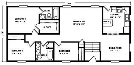 mountain modular raised ranch floor plans