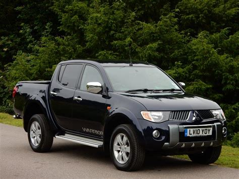 Used 2010 Mitsubishi L200 2 5 Di D Warrior Double Cab 4wd