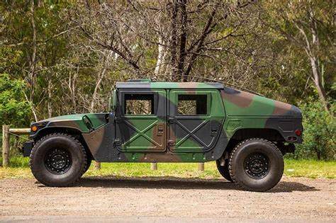 humvee side view allan moffat s humvee review