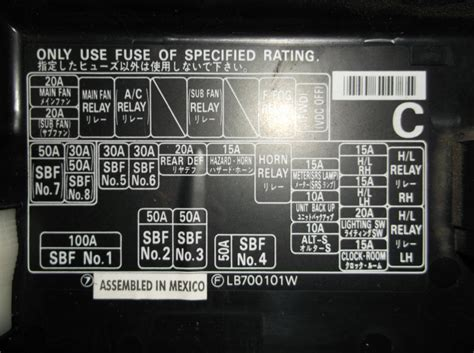 Cant Find Blown Fuse Page 2 Subaru Outback Subaru