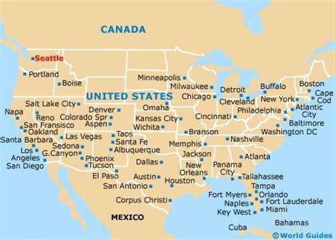 seattle map of usa usa map seattle seattle in usa map washington usa