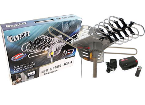 vhf uhf digital dtv hdtv lified range outdoor tv antenna with lifier ebay