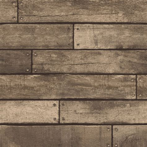 brown wooden plank effect wallpaper rolls fine decor fd31289 feature wall new ebay