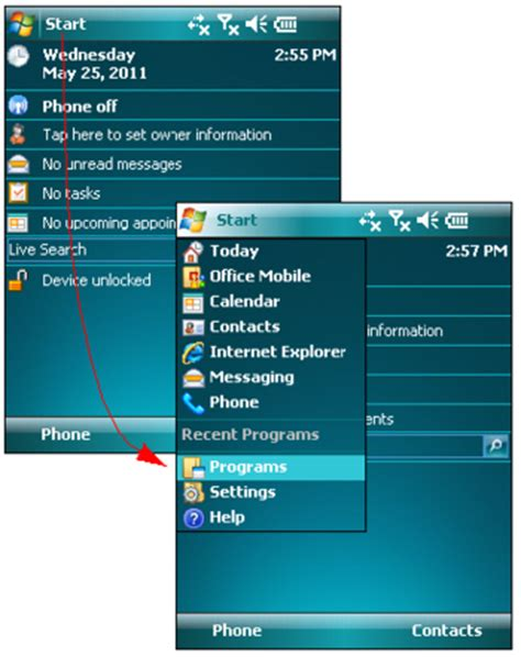 zimbra mobile installation  setup  windows mobile