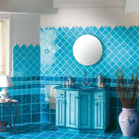 blue tile bathroom ideas bathroom tile ideas in blue and white 2017 2018 best