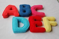 amigurumi alphabet pattern crochet letters and numbers on pinterest crochet