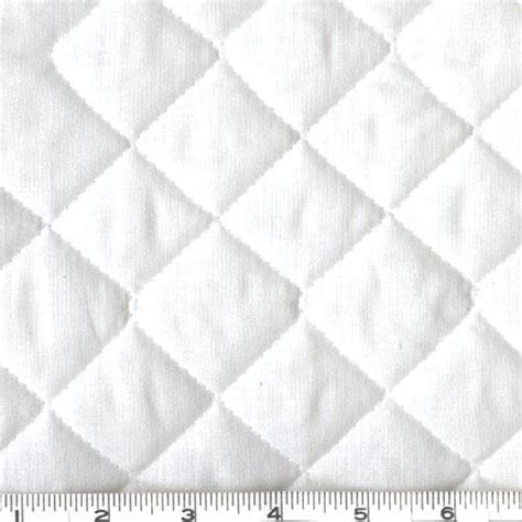 White Quilted Fabric sided quilted broadcloth white discount designer