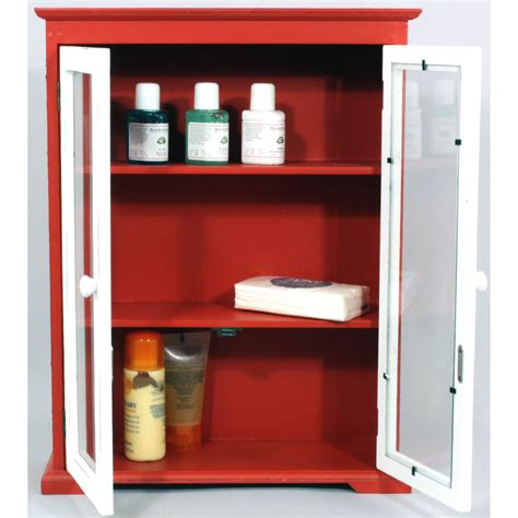 red bathroom cabinets retro bathroom cabinet red