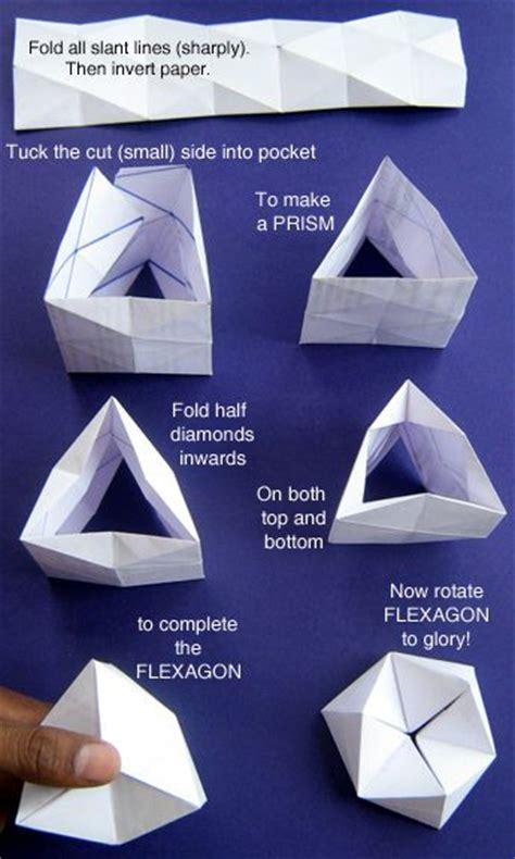 Origami Flexagon - flexagon crafternoons