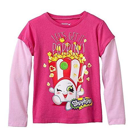 Sleeve Mock Two T Shirt shopkins shirt sleeve mock tshirt pink 5
