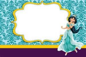 kit princesa jasm 237 imprimir gratis princesas disney