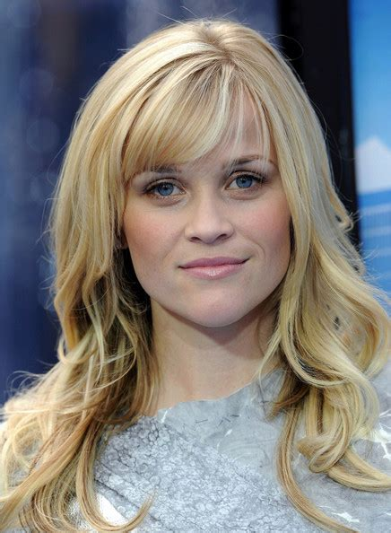 how to cut reese witherspoon bangs more pics of reese witherspoon long wavy cut with bangs
