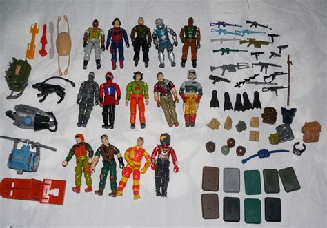 80s Accessories For Sale by Fs Or Ft A Bunch Of 80 S Gi Joe Figures And Accessories