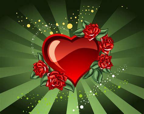imagenes de rosas y corazones brillantes dibujos chidos de rosas y corazones imagui