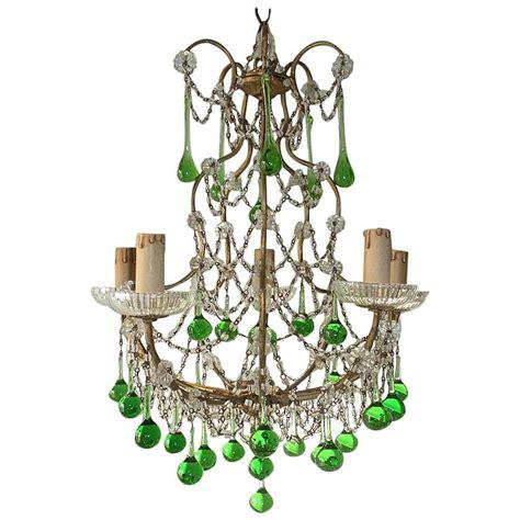 green beaded chandelier chandelier green emerald green beaded chandelier bedroom