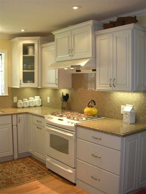 Ornate Kitchen Cabinets by Small White Kitchen Houzz