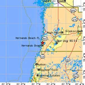 Hernando Florida Map by Hernando Beach Florida Fl Population Data Races