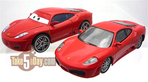 disney cars ferrari mattel disney pixar diecast cars the cars of cars part 2