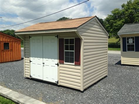 sheds for sale 8x10 vinyl quaker storage shed for sale