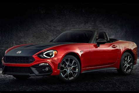 fiat 124 spider elaborazione abarth sprints into new york